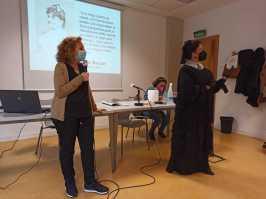 La periodista Maribel no escatima en preguntas